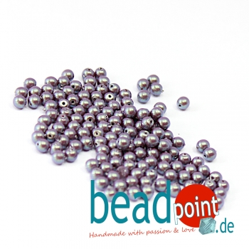 Pearl Shell 3 mm Plum  150 St