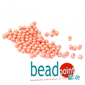 Pearl Shell 3 mm Orange Sherbet  150 St