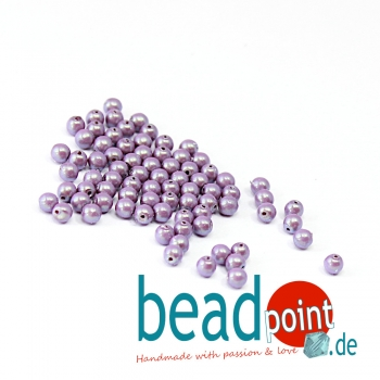 Pearl Shell 3 mm Lilac  150 St