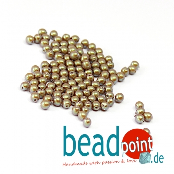 Pearl Shell 3 mm Topaz  150 St
