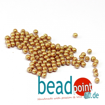 Pearl Shell 3 mm Mocha Latte  150 St