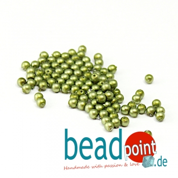 Matted 3 mm Spring Bud Satin  150 St