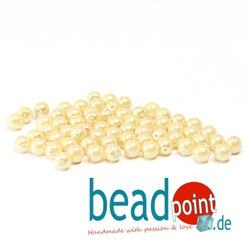 Pearl Shell 4 mm Sunlight  120 St