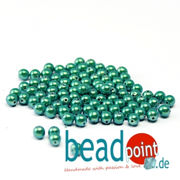Pearl Shell 4 mm Peppermint  120 St