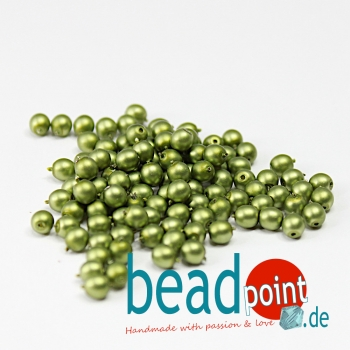 Matted 4 mm Spring Bud Satin  120 St