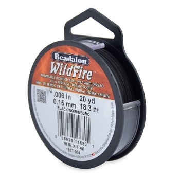 Wildfire 0.15mm Black 20YD