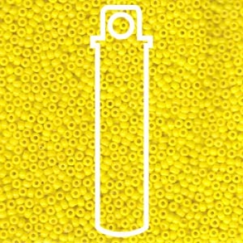 11/0 SEED BEAD-APRX 23GMS OPAQUE YELLOW