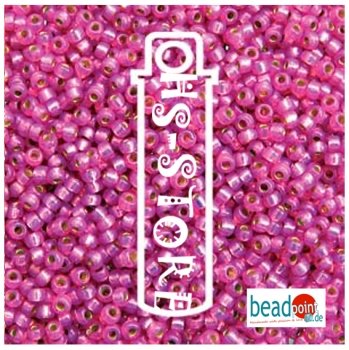 11/0 ROUND DURACOAT S/L DUSTY ROSE-24 GM/TB