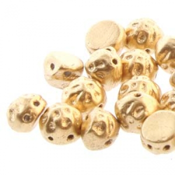 BAROQUE 2HL CAB 7MM BRONZE PALE GOLD 2HL 20pcs