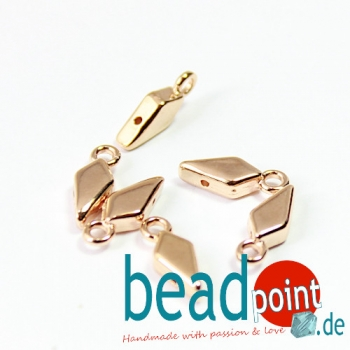 AMBELI- KITE ENDING ROSE GOLD PLATE 6pcs