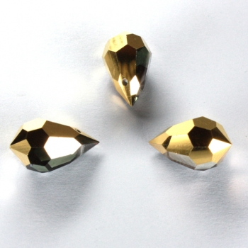 M.C. DROP 9x15mm aurum gold 3 PCS