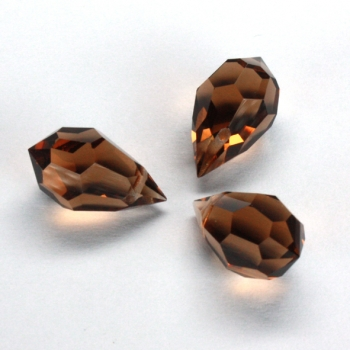 M.C. DROP 9x15mm smoked Topaz 3 PCS
