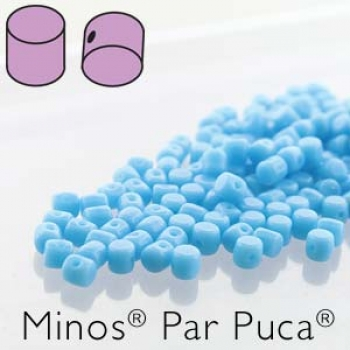 Minos 2,5x3mm opaque turquoise 7gr