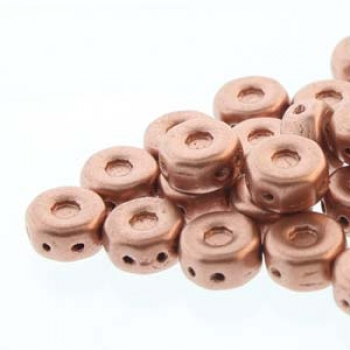 OCTO 8X4MM 3HL COIN BRONZE PALE GOLD COPPER 25 PC
