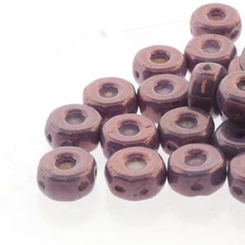 OCTO 8X4MM 3HL COIN CHALK PURPLE VEGA 25PC