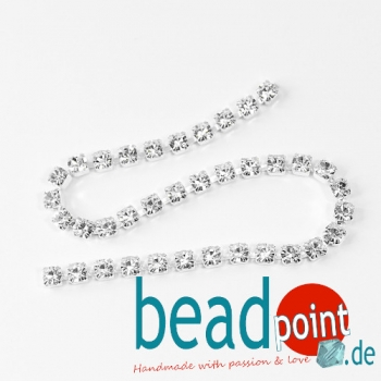 Cup Chain 16SS Crystal silver Plate 20cm