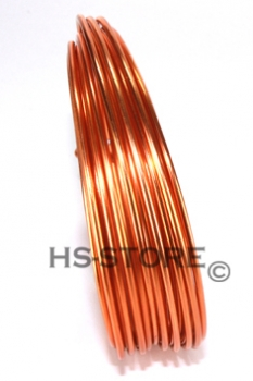 Aludraht  2 mm orange 5 m / ~ 42 g