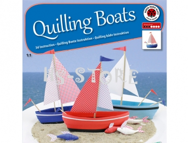 3D Boat Quilling Anleitung