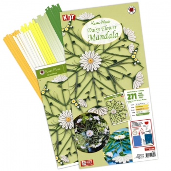 Daisy Flower Mandala Kit