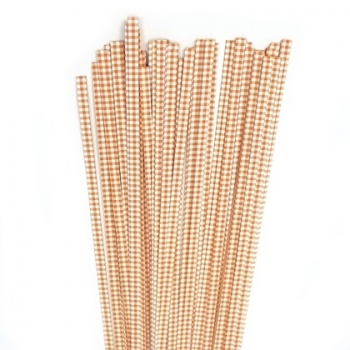 Str. 5 x 450 mm orange checkert  80 St. /Pcs.