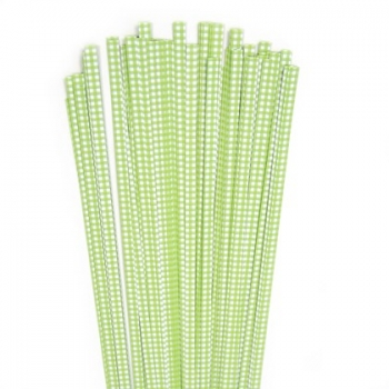 Str. 5 x 450 mm lime checkert  80 St. /Pcs.