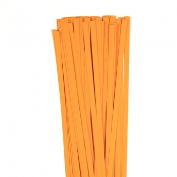 Str. 5 x 450 mm orange 120 g. 80 St. Paper St./Pcs 120g