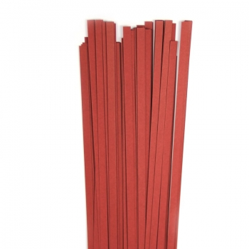 Str. 5 x 450 mm cherry red  80 St. Paper St./Pcs 120g