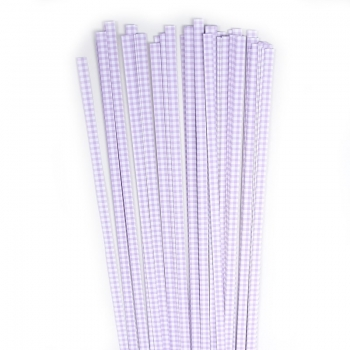 Str. 5 x450 mm lilac checkert 80 St. /Pcs.
