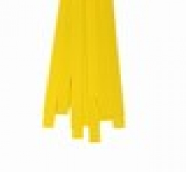 Str. 15 x 450 mm Bright Yellow 40 St. Paper St./Pcs 120g