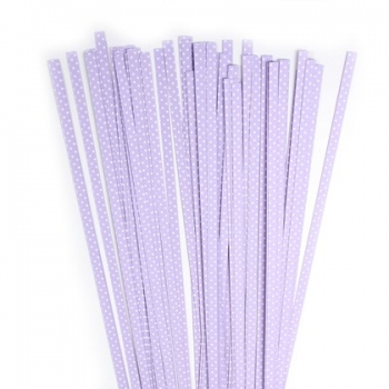 Str. 5 x 450 mm lilac/white dots 80 St. /Pcs.