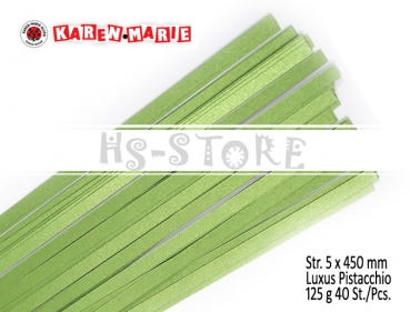 Str. 5 x 450 mm Luxus Pistacchio 40 St. /Pcs.