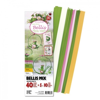 Mix 3,5,15 x 450 mm Bellis