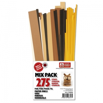Mix pack 3D Fringe Owls 275 pcs