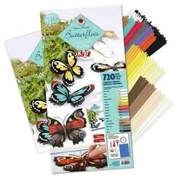 Butterflies Fine comb & pen Kit