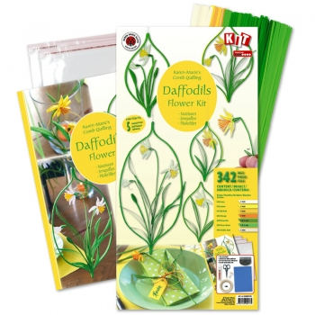 Daffodils Kit. 342 pcs