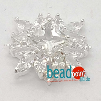 Fancy Star silver 20mm