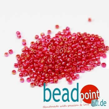 Matsuno Seedbeads 11/0 Opaque Colour Rainbow #735R 100gr.