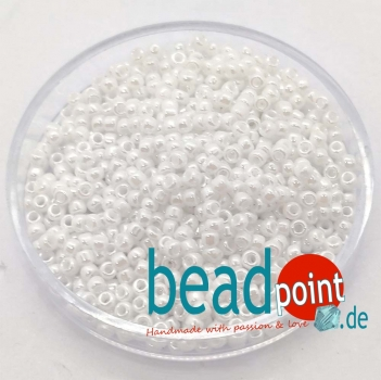 Matsuno Seedbeads 11/0 Opaque Colour Lustered #743L 7,5 gr.