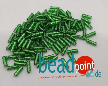 Matsuno Spiral Bead 6mm green #52 10gr.