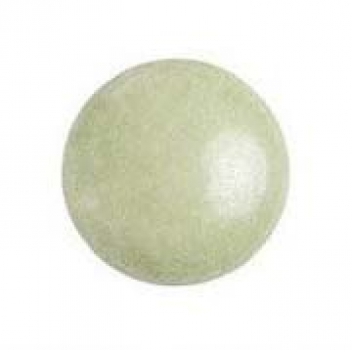 Cabochon 18mm PAR PUCA® OPAQ. LT. GREEN CERAMIC LOOK 1 St
