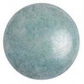 Cabochon 25mm PAR PUCA® Opaque Blue Ceramic Look 1Stk.