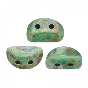 KOS® PAR PUCA® OPAQUE GREEN TURQUOISE PICASSO 10gr