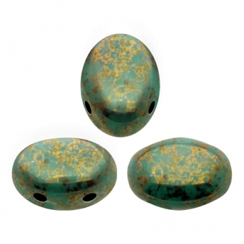 SAMOS® PAR PUCA® OPAQUE GREEN TURQUOISE BRONZE 10gr