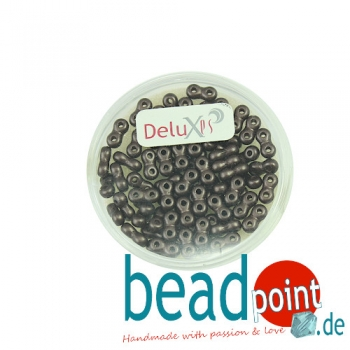 Infinity Beads DeluXes dunkelbraun 3x6 mm ca. 70 St. = 5,5 g