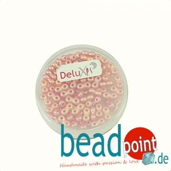 Infinity Beads DeluXes pfirsich 3x6 mm ca. 70 St. = 5,5 gr.