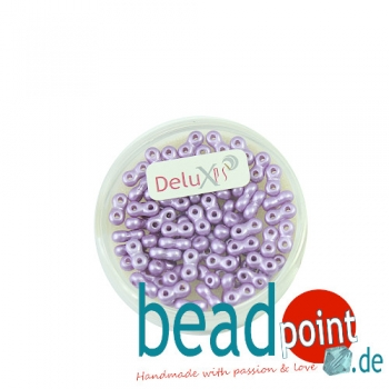 Infinity Beads DeluXes helllila 3x6 mm ca. 70 St. = 5,5 gr.