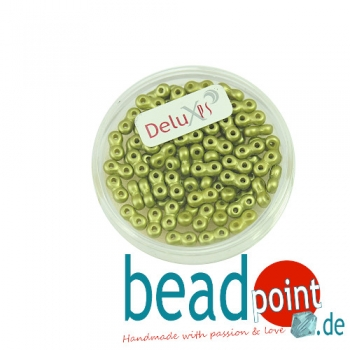 Infinity Beads DeluXes khaki 3x6 mm ca. 70 St. = 5,5 gr.