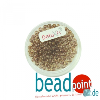 Infinity Beads DeluXes marmor braun 3x6 mm ca. 70 St. = 5,5