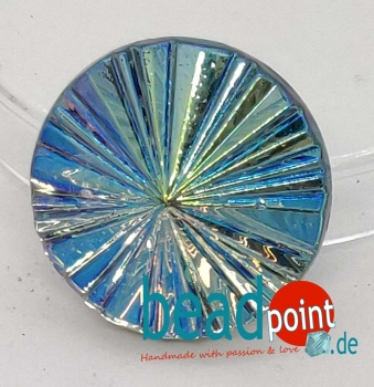 Pyramide Cabochon Kristall vitrail light AB 18mm