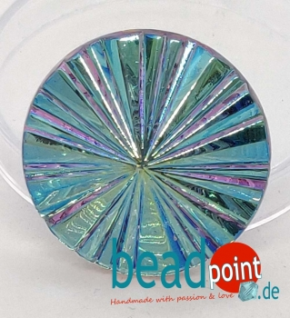 Pyramide Cabochon Kristall vitrail light AB 27mm